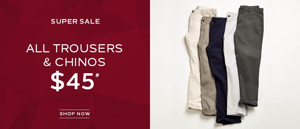 Trouser Sale