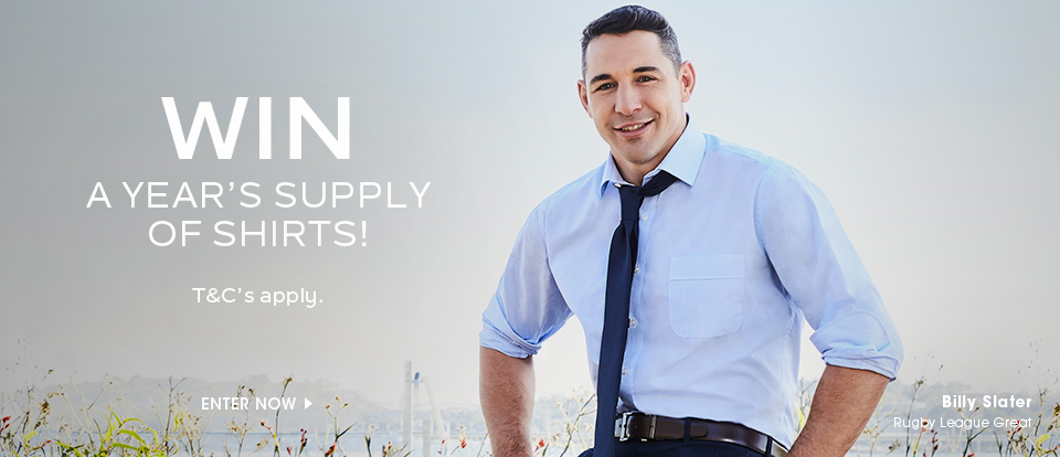 WIN A Years Supply Of Shirts!