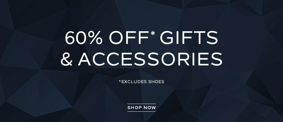60% off gifts and accessories