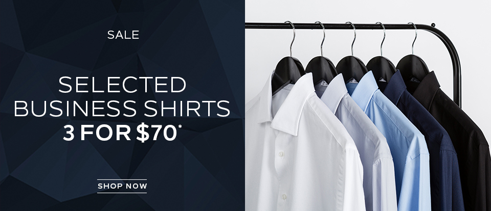 Selected Business Shirts 3 For $70