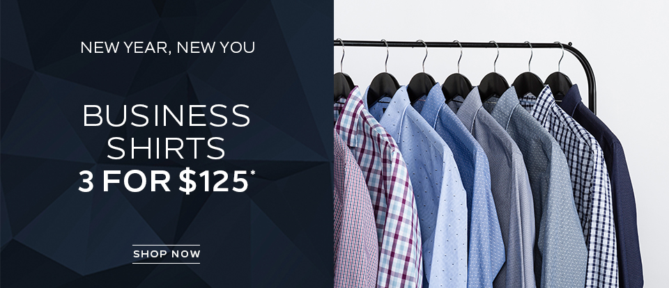 3 For $125 Business Shirts