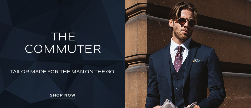 The Commuter: Tailor made for the man on the go. Shop now.