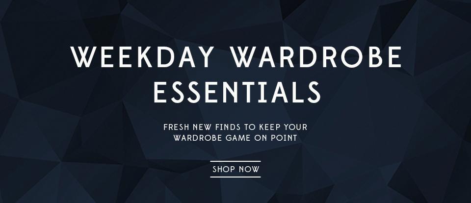 Weekday Wardrobe: Shop New Arrivals