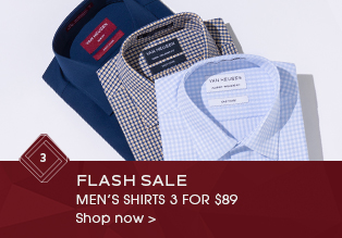 3 For $89 Mens Shirts