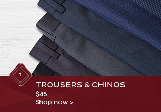 Trousers and Chinos Sale