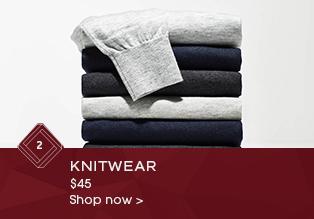 Knitwear $45*