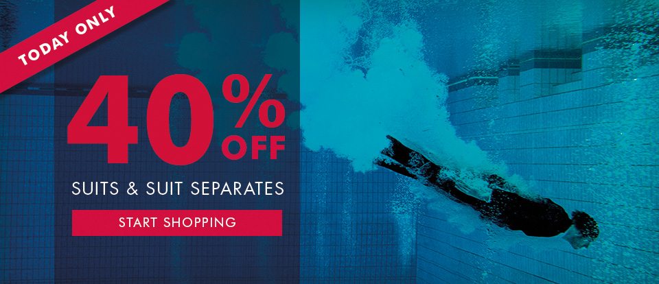 Save 40% off suits & suit separates just for today only at Vanheusen.com.au