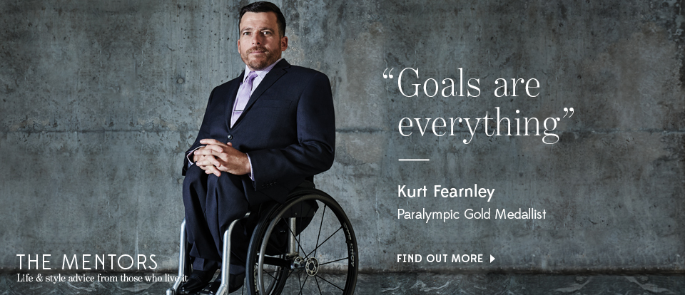 Mentor Kurt Fearnley - Find Out More