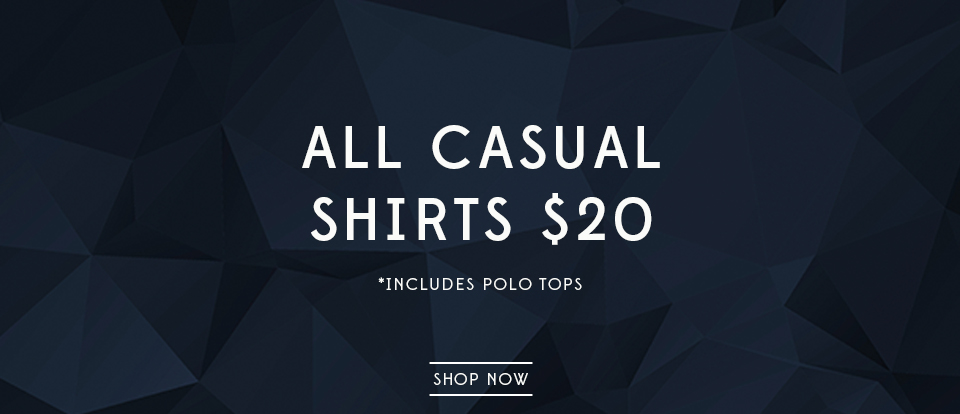 all casual shirts $20