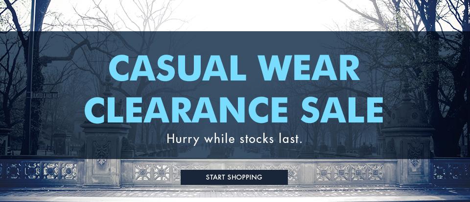 Huge savings on casual shirts, polos & knitwear at Vanheusen.