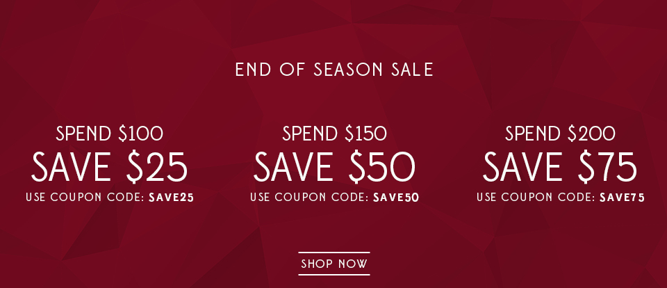 End of season sale - save $75 when you spend $200 or more + free shipping on orders over 100$ Australia wide at Van Heusen.